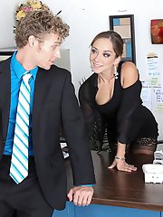 Remy is always talking on the phone instead of doing work at the office. Her Boss Michael noticed this and took a look at the phone records. Remy made